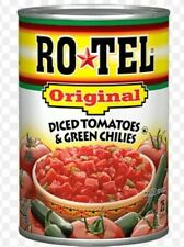 8-PACK Cans Rotel ORIGINAL Diced Canned Tomatoes w/ Green Chilies. Ships Fast!