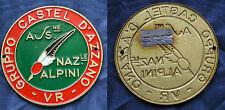 DISTINTIVO A.N.A. ASSOCIAZIONE NAZIONALE ALPINI GRUPPO CASTEL D'AZZANO (VERONA)