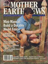 Mother Earth News June-July 1993  Durable Wood Fence - Composting