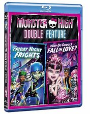 Monster High: Friday Night /Why Do Ghouls    Blu-ray     Brand new and  Sealed
