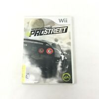 Need for Speed: ProStreet Nintendo Wii 2007 CIB with Manual and Tested EA Sports