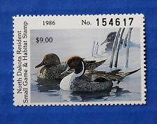 U.S. (ND05) 1986 North Dakota State Duck Stamp (MNH)