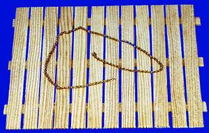 20 cm Messing Kette, 0,3 mm Drahtstärke, 1:87,