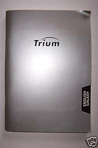 Bedienungsanleitung Trium Galaxy