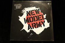 New Model Army SELF-TITLED LP - SEALED MINT 1987 CAPITOL RECORDS CLP-46928
