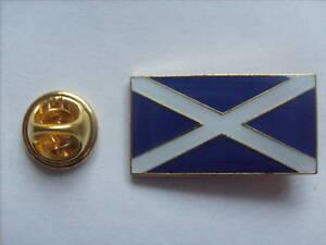 15 ST. ANDREWS FLAG ENAMEL PIN BADGES