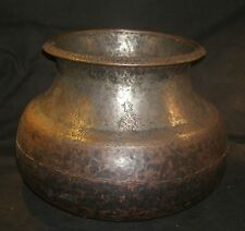 Rare Antique Indian ISLAMIC Cooking Vessel Mughal Era Collectible