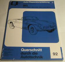 Reparaturanleitung MG A + MG B, Baujahre 1955 - 1980