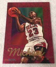 1995-96 Michael Jordan Hoops Power Pallete 90's Insert Rare Chicago Bulls Goat