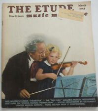 The Etude Magazine Fred Warning's Famous Vochestra March 1945 013015R