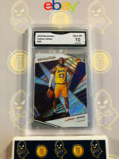 2018 Revolution Lebron James #40 Lakers - 10 GEM MT GMA Graded Basketball Card