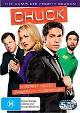 CHUCK SEASON 4 : NEW DVD