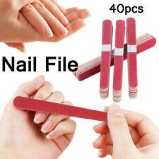 40pcs Chic Buffer Block Grinding Stick Dead Skin Remove Scrub Stick Nail File