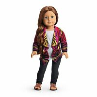 American Girl Saige's Sweater Outfit For Doll NIB Doll Of The Year 2013-Isabelle