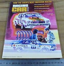 1979.RACING CAR NEWS.NISSAN STANZA.RALLY.CALDER.BASKERVILLE.LAKESIDE.AMAROO