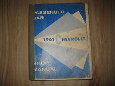 1961 Chevrolet original Shop manual