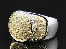 Anelli da uomo in acciaio con diamante