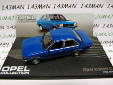 voiture 1/43 IXO eagle moss OPEL collection n°59 : KADETT C berline 4 p 1973/79