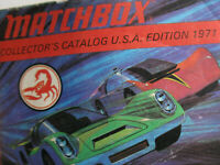 Vintage Matchbox Collector's Catalog 1971, U.S.A. Edition