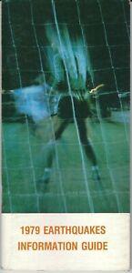 1979 San Jose Earthquakes Media Guide, NASL, soccer