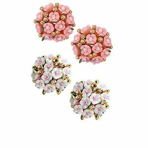 YouBella Gold-plated Earrings for Women & Girls (Pack of 2)