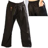 ProForce Gladiator 8 oz. Combat Karate Uniform Gi Pants Youth Child Adult Black