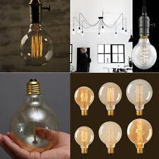 Dimmable Globe Antique Edison Bulbs Industrial Lights Lamp 40w/60w E27 ES B22 BC