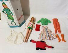 Vintage Mattel 1965 Francie #1130 Bendable Leg Blonde Doll with Swimsuit & CASE