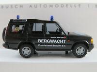 """Busch 51919 Land Rover Discovery (1998) """"DRK Bergwacht Bautzen"""" 1:87/H0 NEU/OVP"""