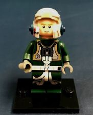 Genuine LEGO Minifigure Star Wars Rebel A-Wing Pilot - Complete  - sw437