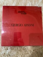 NEW AUTHENTIC Giorgio ARMANI CODE 3 PIECE SET - 2.5 Oz EDT 2.5 OZ Aftershave Deo