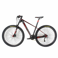 "Carbon Fiber MTB Cycling Bike 30Speed Oil Brake 29er 11.5kg Bicycle 15.5""/17""19"""