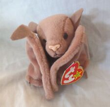 Ty Beanie Baby Batty the Brown Bat 4th Generation PVC Filled