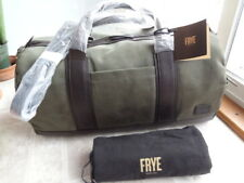 Frye Carter Duffel Waxed Canvas Bag Duffle (NEW) Free Shipping
