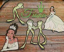 Disney's Princess and the Frog  LARGE 6 INCH printed die cut  set 3
