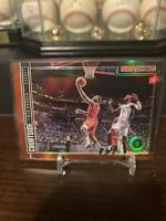 2019-2020 NBA Hoops Premium Stock Courtside James Harden Red Prizm Holo