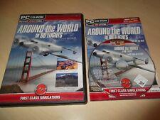 ✈ autour du monde en 80 vols ~ Flight Sim x FS2004 FSX Add on Inc Manuel