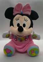 Talking/Learning/Educational Interactive Minnie Mouse Soft Toy (Disney Baby)