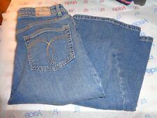 $54 Paris Blues womens bootcut jeans medium wash size 11 pants 32W29L
