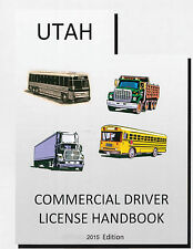 COMMERCIAL DRIVERS MANUAL FOR CDL TRAINING (UTAH) ON CD IN PDF PROGRAM.