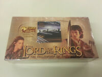 The Lord of the Rings The Fellowship of the Ring Factory Sealed Trading Card Box
