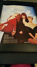 Wilson Phillips Rare Original Grammy Awards Promo Poster Ad Framed!