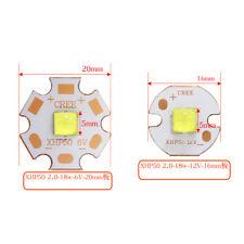 Cree XHP50.2 2nd Generation Warm Neutral Cool White 6V 12V +16mm 20mm Copper PCB
