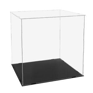 "Clear Acrylic Display Case Plastic Box Dustproof Protection Showcase 5"" x 4"" x6"""