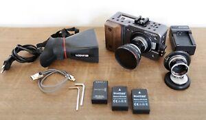 Blackmagic Design Pocket  Cinema Camera BMPCC mit Cage und Kern Pillard Optiken