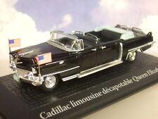 ATLAS 1/43 CADILLAC Open Limousine Queen Elizabeth & Dwight D. Eisenhower 1959