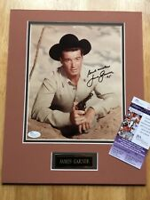 (SSG) Sexy JAMES GARNER Signed 8X10 Double Matted Photo - JSA (James Spence) COA