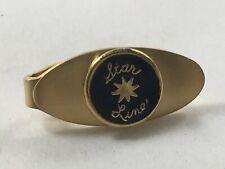 RMS Titanic Star Line Enamel Gold Tone Tie Clip Clasp