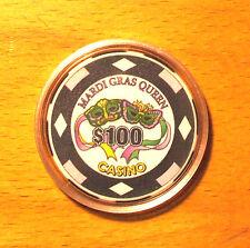 $100. Mardi Gras Queen Casino Chip - Tarpon Springs, Florida - 2005
