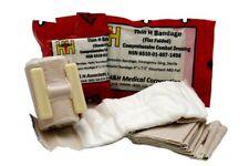 "H&H Thin H Bandage 4""x7.5"" Flat Fold Compression Dressing IFAK EMT"